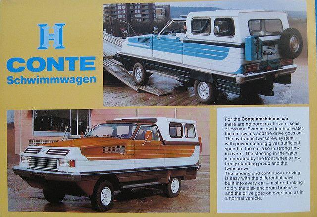 Herzog Conte Schwimmwagen