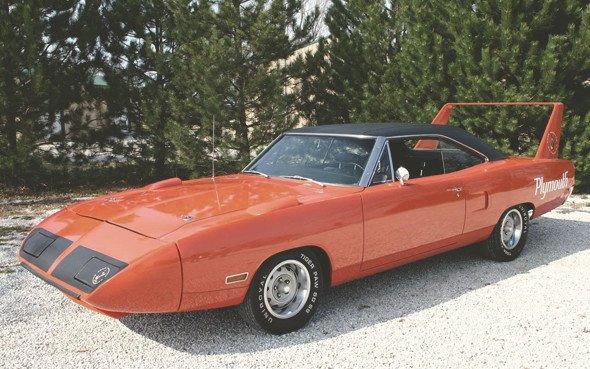 Спортният автомобил Plymouth Superbird