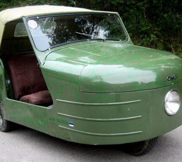 Триколесният автомобил – СМЗ С1Л