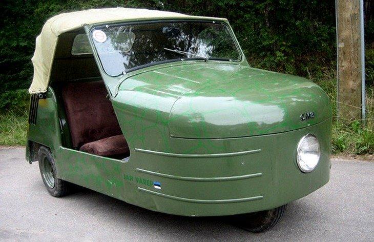 Триколесният автомобил - СМЗ С1Л
