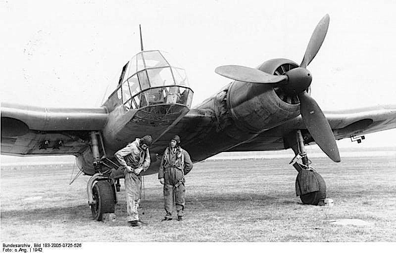 Асиметричният самолет Blohm & Voss BV 141