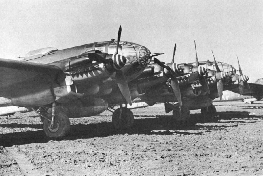 Бомбардировачът Heinkel He 111Z