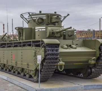 многокуполен танк T-35