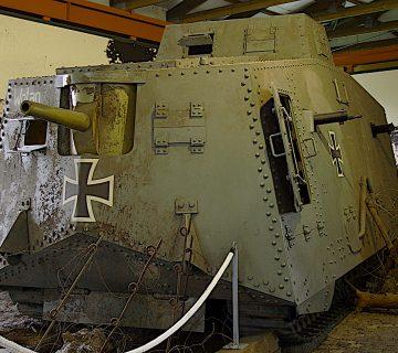първият немски танк