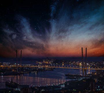 светлинно замърсяване