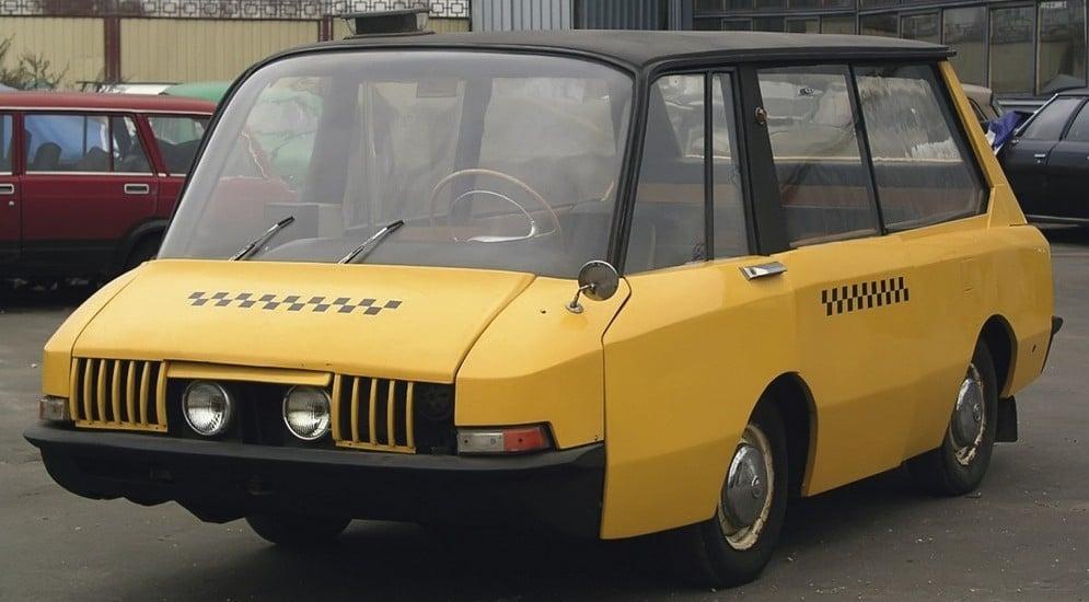 Експериментално такси - ВНИИТЭ ПТ - изглед отпред