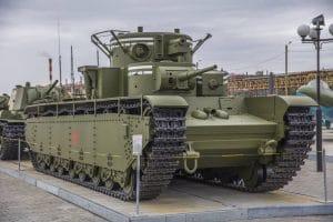 Многокуполен танк Т-35