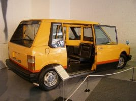 Експерименталното такси - Volvo Experimental Taxi