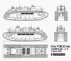 Char 2C - схема