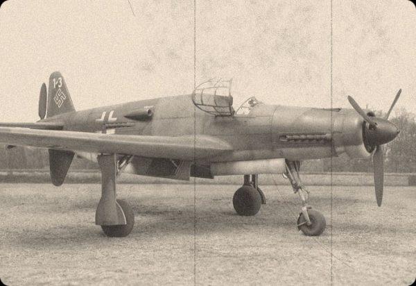Тежък скоростен изтребител Dornier Do 335