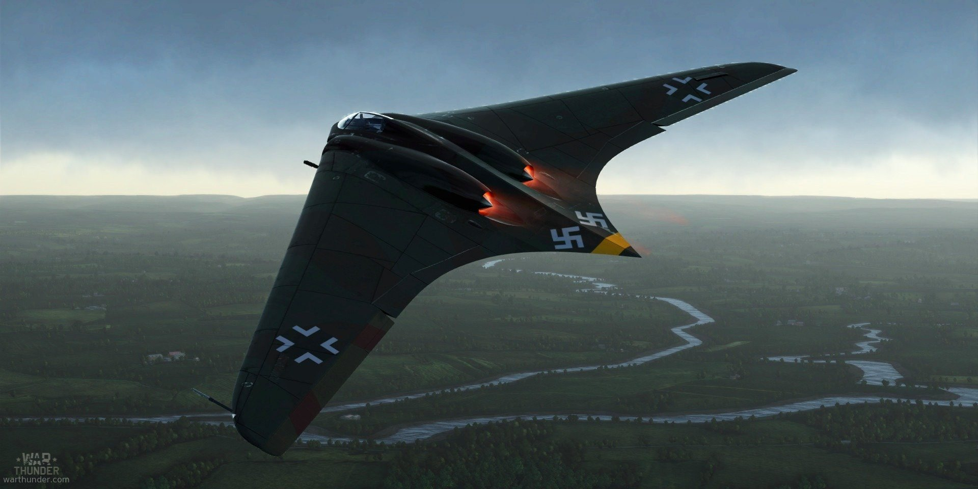 Horten Ho 229 - първият реактивен самолет - летящо крило