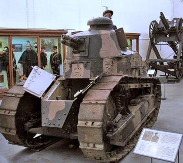 Renault FT-17 - лек танк