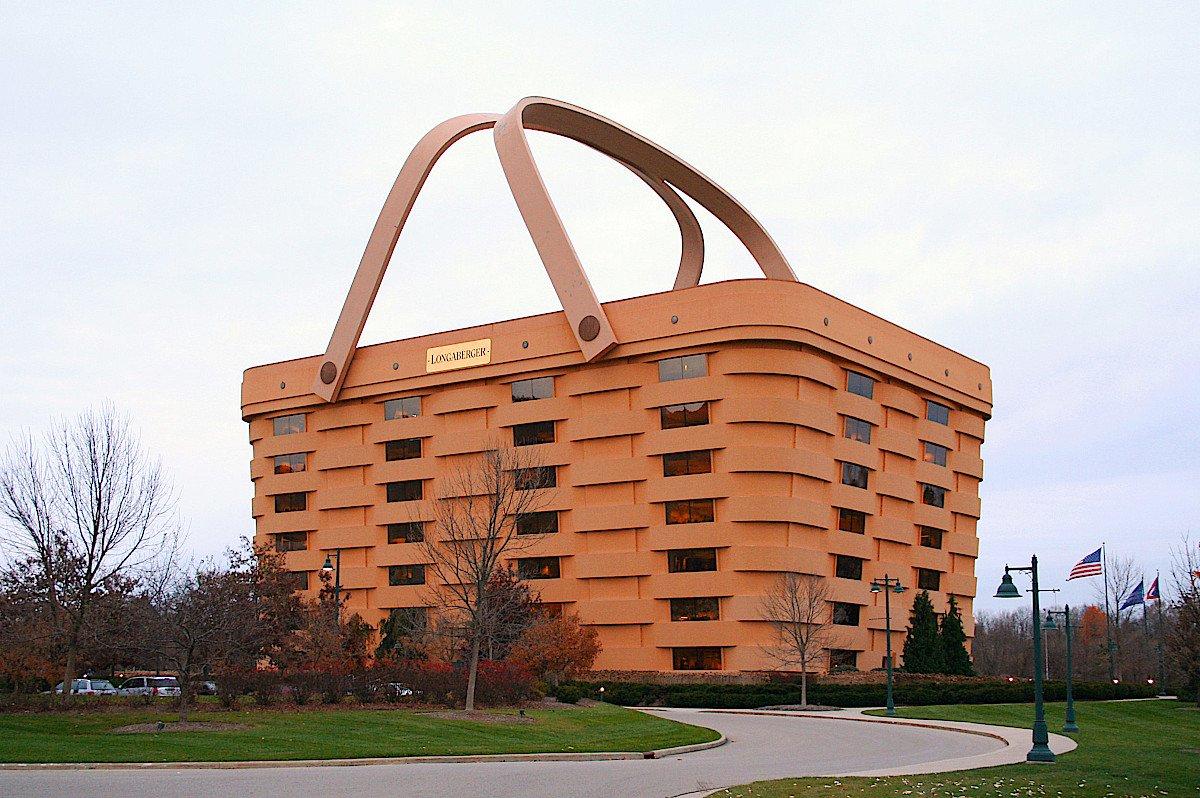 Сградата кошница, в Нюарк в щата Охайо