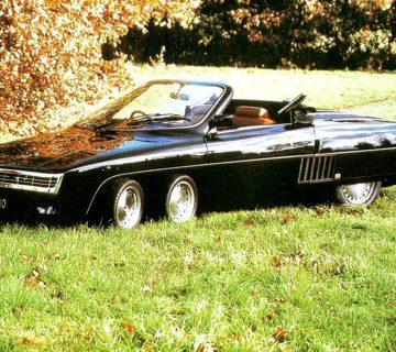 Шестколесно кабрио Panther 6