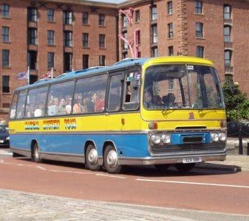 Триосен автобус Bedford VAL