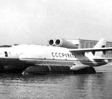 самолетът амфиибия ВВА-14