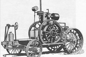 Първият трактор
