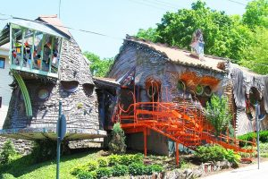 The Mushroom Tree House