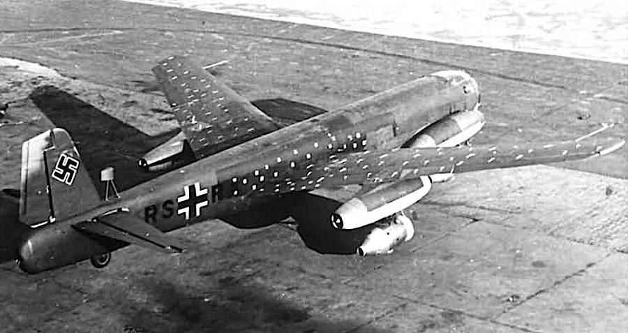 реактивен бомбардировач юнкерс 287