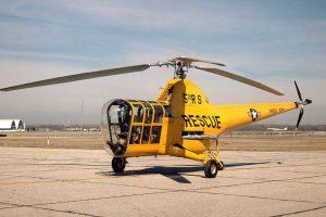 Вертолетът Sikorsky H-5