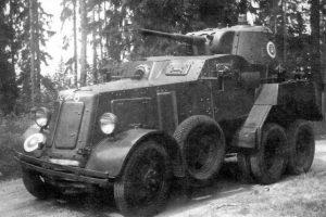 Бронираният автомобил БА-10