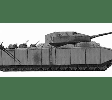 Гигантският танк - Landkreuzer P. 1000 Ratte