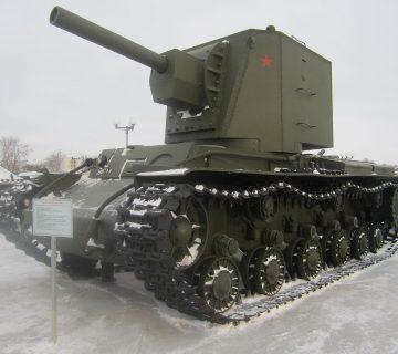 Съветският тежък танк КВ-2