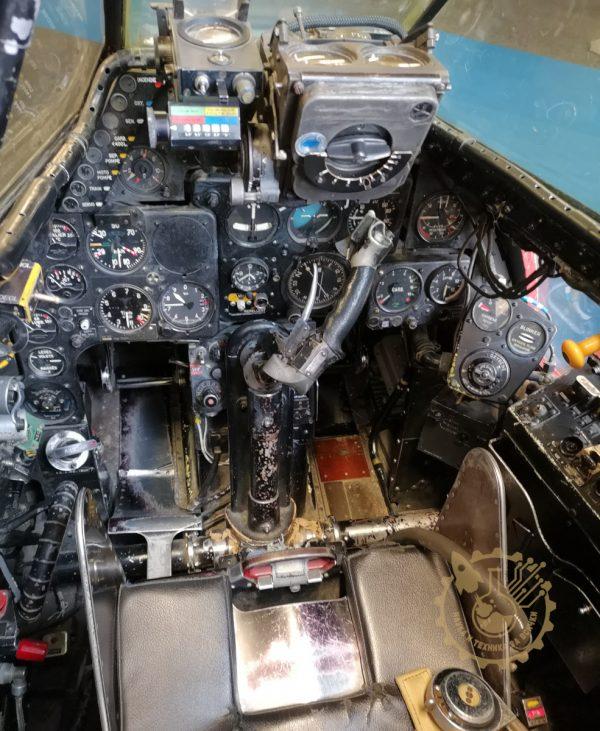 Кабина на de Havilland DH-112 Mk 4 Venom