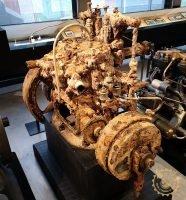 Корабен двигател престоял около 130 години под водата