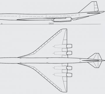 Свръхзвуковият Боинг 2707
