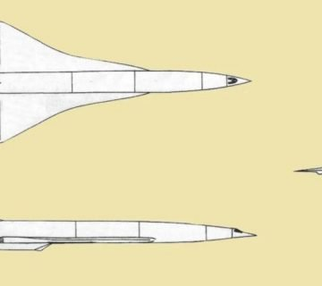 хиперзвуковият бомбардировач ту-360