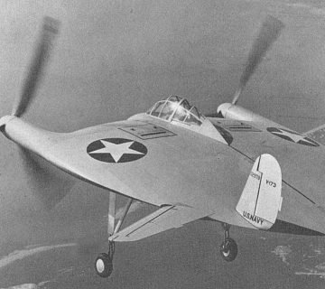 Летящата палачинка Vought V173