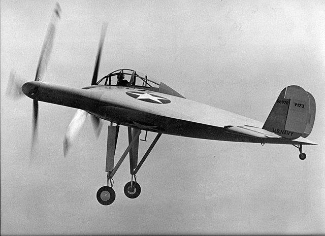 Vought V173 в полет