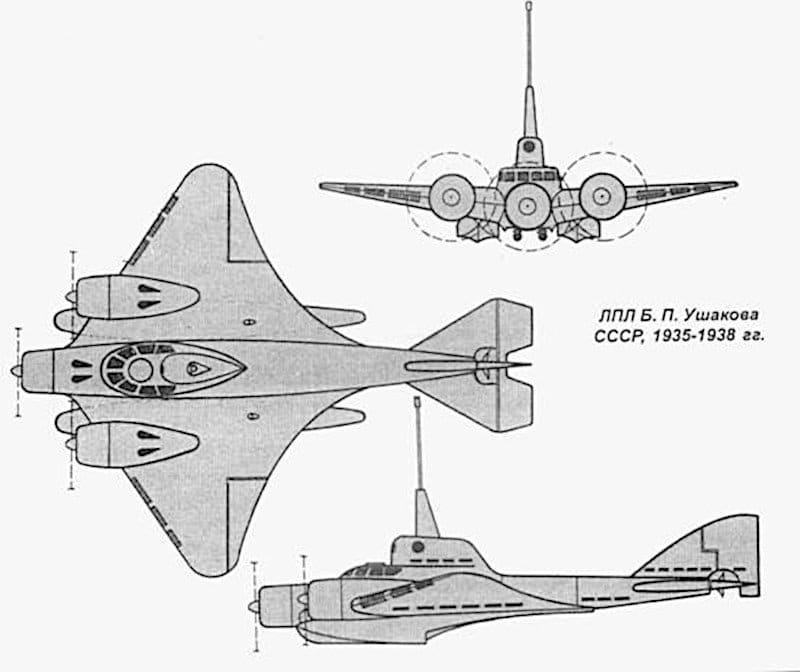 Летящата подводница на Ушаков