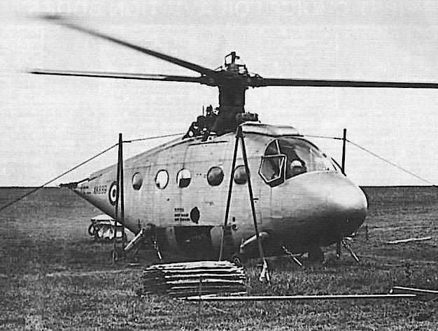 Хеликоптерът с реактивен ротор