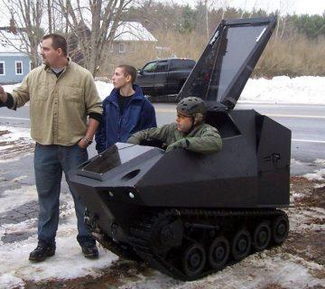 най-малкият танк в света