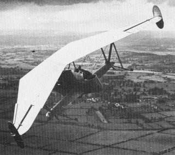 Самолетът птеродактил Westland Hill