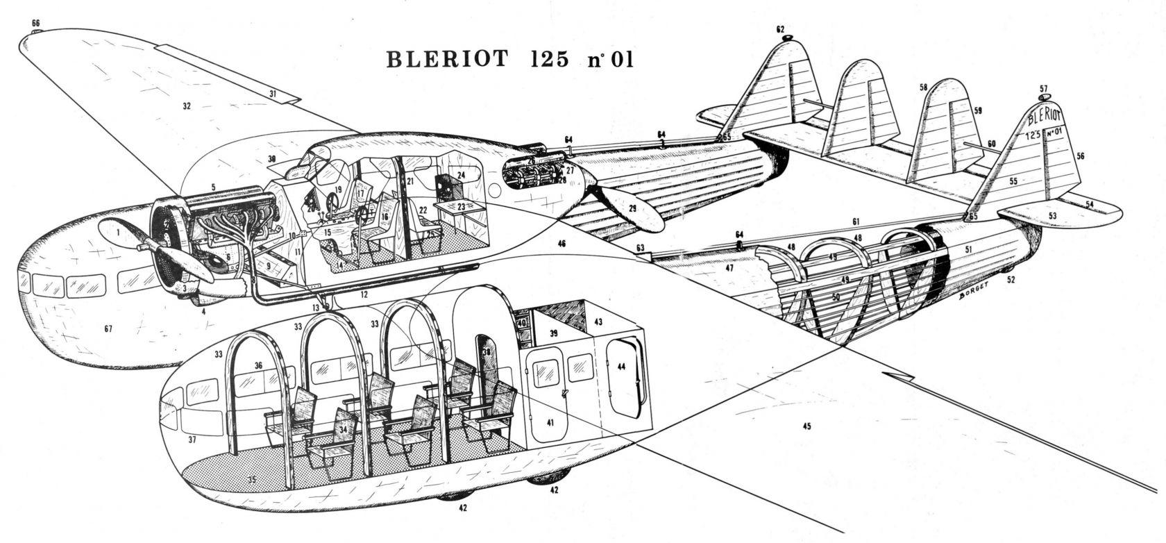 Bleriot B-125