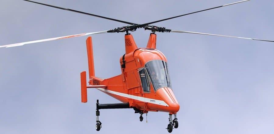 Хеликоптерът Kaman K-max