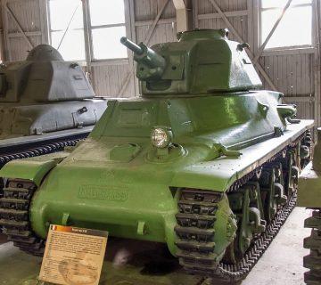 лекият танк hotchkiss h35
