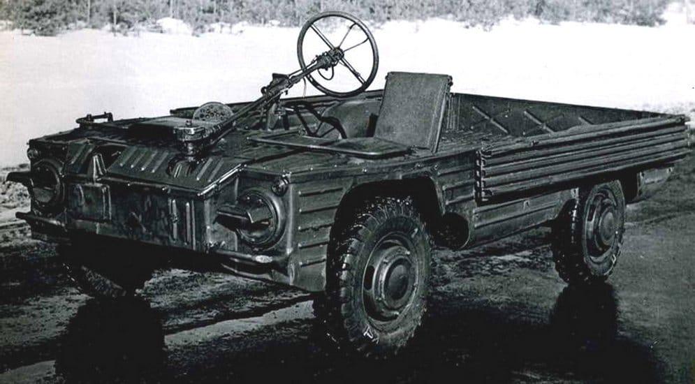 Малкият армейски вседеход НАМИ–032