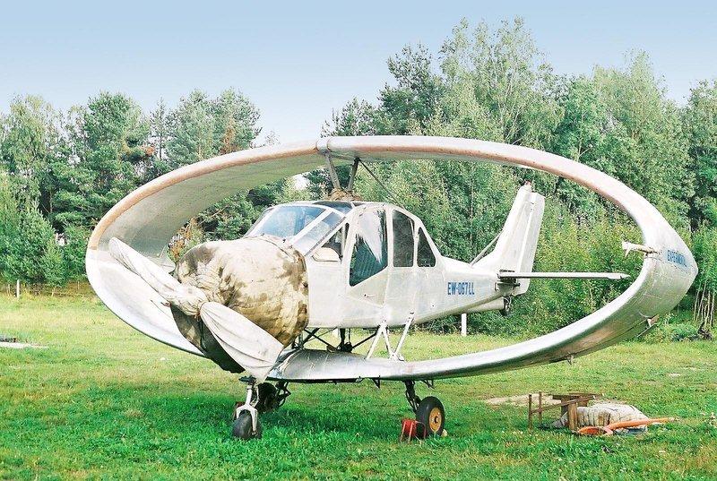 Самолетът пръстеновидно крило Нарушевич