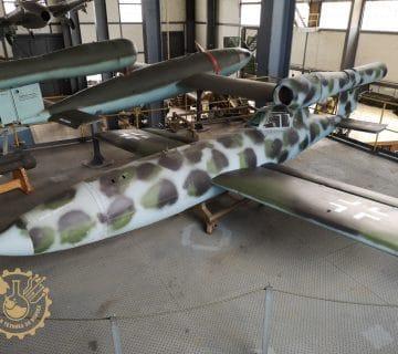 Летяща бомба V1 Fieseler Fi 103R Reichenberg