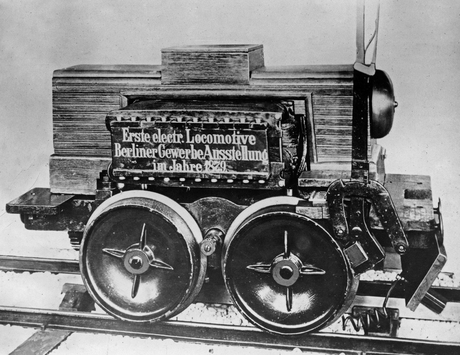 Първият електрически локомотив на Сименс