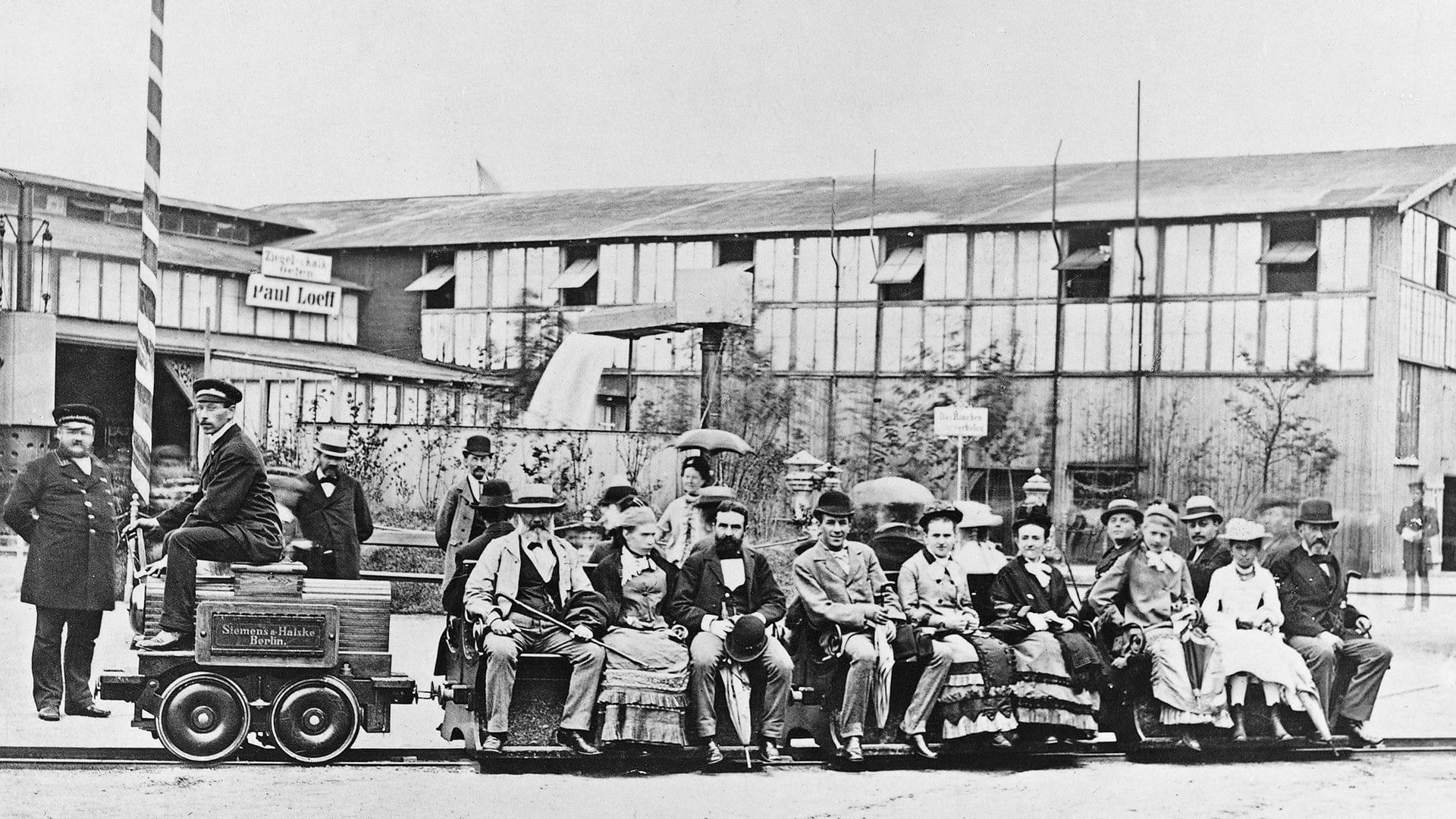 Първият електрически влак Сименс