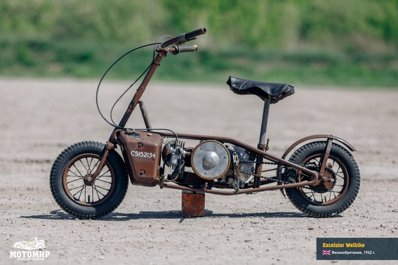 Армейският скутер Welbike