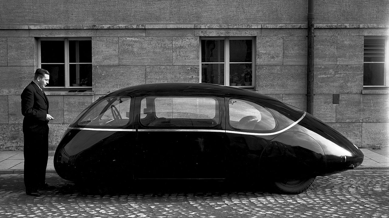 Аеродинамичният автомобил Schlörwagen