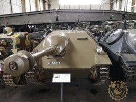 Panzerjäger G13 Hetzer - оръдието KwK 40