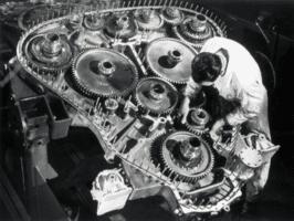 Napier Deltic - редуктор