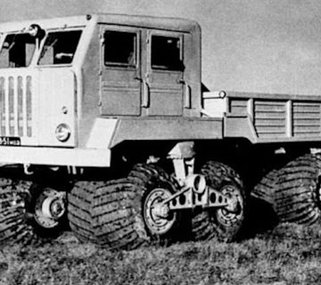 Високопроходимият камион Нами–094
